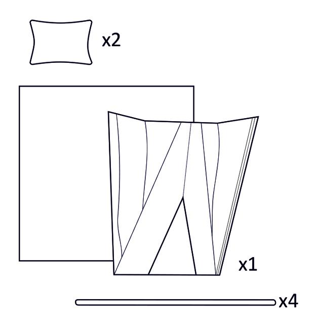 elementy zestauw - grafika
